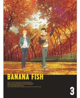 BANANA FISH Volume 3 BluRay/DVD Box Set Aniplex Special