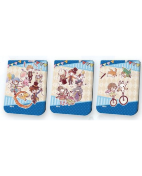 Digimon Adventure Tri 20th Anniversary Graffart Goods Leather Notepad