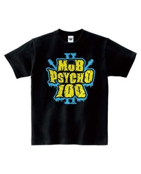 Mob Psycho 100 II Limited Base Goods T-Shirt Logo Ver.