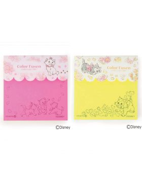 Disney x ITS'DEMO Cat & Figaro Themed Collaboration Goods Color Sticky Notes