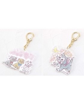 Disney x ITS'DEMO Cat & Figaro Themed Collaboration Goods Acrylic Keyholder