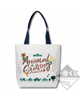 """Ichiban Kuji Animal Crossing """"A New Lifestyle, Everyday is Special"""" Kuji Tote Bag"""