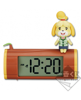 """Ichiban Kuji Animal Crossing """"A New Lifestyle, Everyday is Special"""" Kuji Isabelle Clock"""