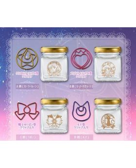 Sailor Moon Store Goods Romantic Office Stationery Paper Clip Glass Bottle