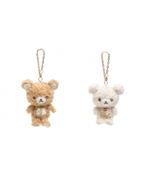 Rilakkuma Cafe Goods Plush Keychains