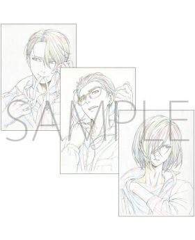 Yuri On Ice MAPPA Limited Edition Animation Cell Art Set