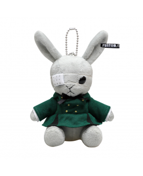 Kuroshitsuji Black Label Square Enix Bitter Rabbit Mini Plush Ciel Phantomhive