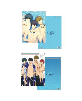 Free! Dive to the Future Movic Clear File