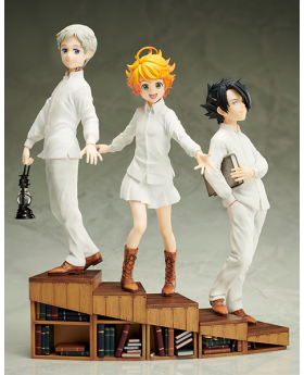 The Promised Neverland Aniplex+ Emma, Norman, and Ray 1/8 Scale Figurines