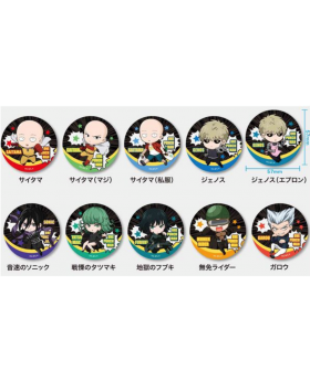 One Punch Man Season 2 Trading Can Badges SET