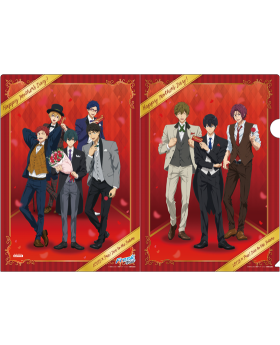 Free! Dive to the Future Aeon Collaboration Original Clear File Vol. 3