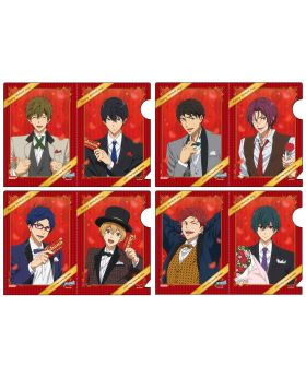Free! Dive to the Future Aeon Collaboration Original Mini Clear Files