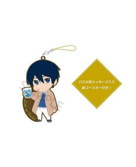 Free! Birthday Series Link Up Smile! Goods Rubber Strap and Coaster Set Haruka