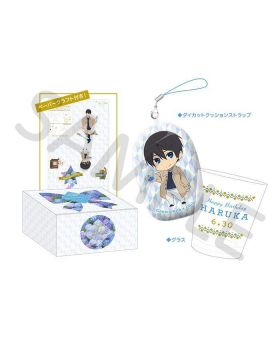 Free! Birthday Series Link Up Smile! Goods Glass Cup Set Haruka