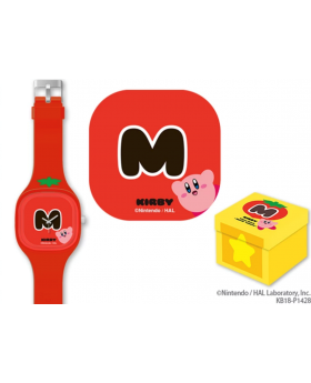 Kirby Prize Item Silicone Watch Red