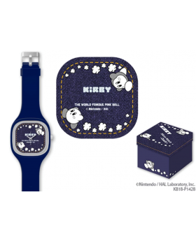 Kirby Prize Item Silicone Watch Denim Blue