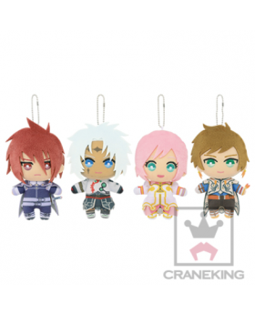 Tales of Series Tomonui Plush Keychains Vol. 4