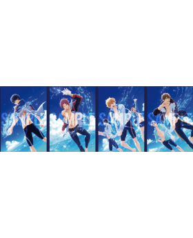 Free! Road to the World Dreams Movie Clear File A INDIVIDUALS