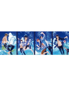 Free! Road to the World Dreams Movie Clear File B INDIVIDUALS