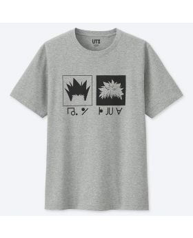 MANGA UT Uniqlo T-Shirt Hunter x Hunter Gon & Killua Silhouette Design