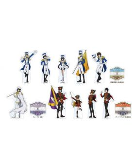 Bungou Stray Dogs 3rd Season Animate Cafe Goods Large Acrylic Stands