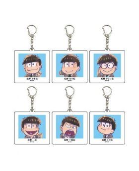 Osomatsu-san The Movie Graffart Acrylic Keychain SET