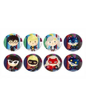 Persona 5 x Sanrio Fortune Collaboration Can Badge Mini Character Ver. BLIND PACKS