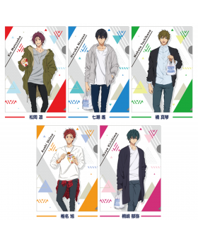 Free! Road to the World Dreams Movie Lawson Special Clear Files