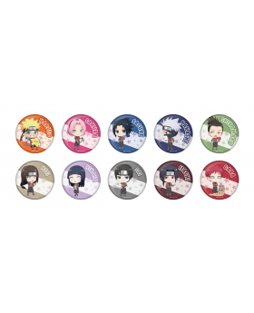 Shonen Jump x Pierrot 40th Anniversary Special Sega Cafe Goods Can Badges NARUTO BLIND PACKS