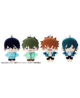 Free! High☆Speed Nitotan Plush Keychains Vol. 1