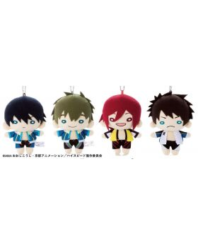 Free! High☆Speed Nitotan Plush Keychains Vol. 2