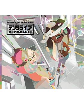 Splatoon 2 Live in Makuhari Tentalive First Press Edition CD + BluRay Amazon Special