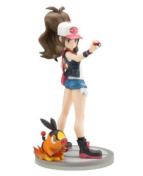 Pokemon ARTFX-J Starter Series Hilda and Tepig Figurine