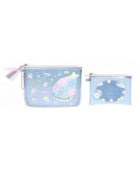 Jinbei-san Rainbow Jellyfish Edition Clear Pouch Set