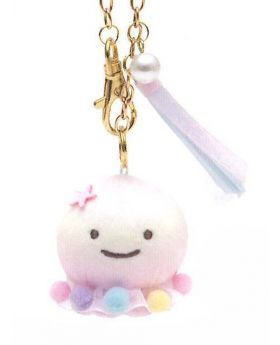 Jinbei-san Rainbow Jellyfish Edition Kurage Small Plush Keychain