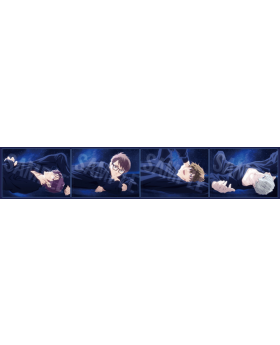 "Free! Road to the World ""Midnight Dream"" Movie Clear File C INDIVIDUALS"