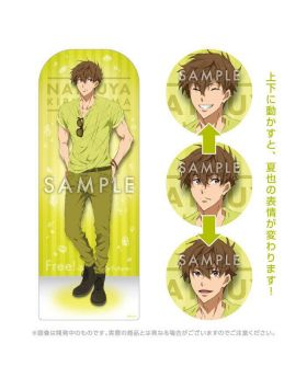 Free! Dive to the Future SPOTLIGHT COLOR KyoAni Goods Natsuya Moving Acrylic Stand