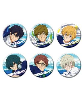 Free! Road to the World Dreams Movie Goods Can Badges Version A BLIND PACKS