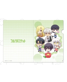 Fruits Basket Animax Cafe Clear File Type B