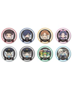 "Sarazanmai ""Gochi"" Food Theme Bell House Can Badges"