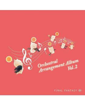 Final Fantasy XIV Eorzean Symphony Orchestral Arrangement Album Vol. 2 CD