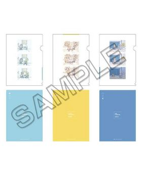 BANANA FISH Mappa Online Special Clear File Set Morning, Noon, Night