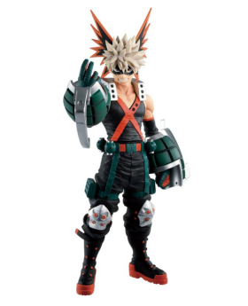Ichiban Kuji Boku No Hero Academia FIGHTING HEROES feat. One's Justice Bakugou Figurine