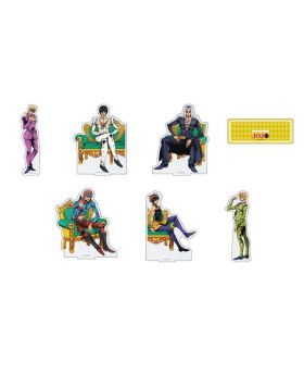 JoJo's Bizarre Adventure Golden Wind Original Illustration BIG Acrylic Stand Team Bucciarati