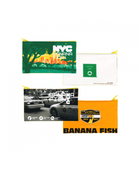 BANANA FISH x New York City Movic Goods Pen Pouches