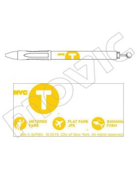 BANANA FISH x New York City Movic Goods Ballpoint Pens