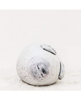 YOU + MORE Round Squishy Seal Sleeping