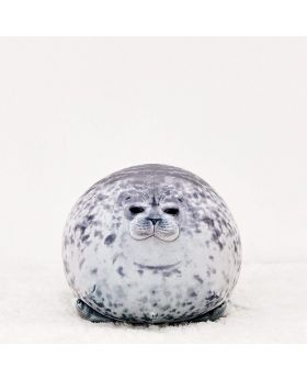 YOU + MORE Round Squishy Seal Awake