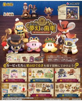 Kirby Dreamy Gear Start of Adventure RE-MENT Figurine Collection SET