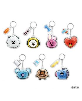 BT21 Gel Beads Keychains Vol. 1